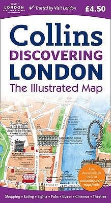 Discovering London Illustrated Map (Sheet map, folded):