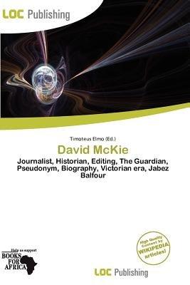 David McKie (Paperback): Timoteus Elmo