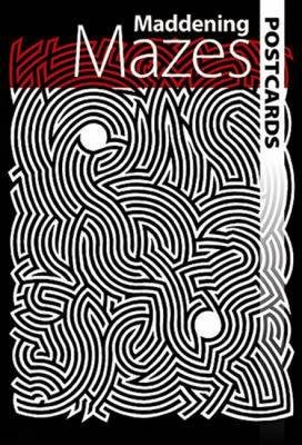 Maddening Mazes (Postcard book or pack): Dover Publications Inc.