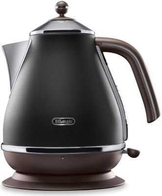 DeLonghi Vintage Icona Kettle 1.7L (Black Velvet):