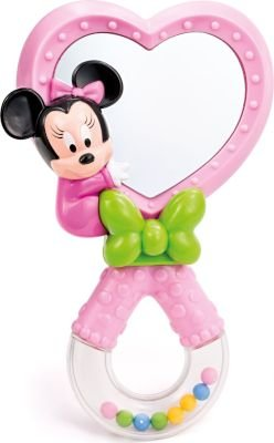 Disney Baby Minnie Mouse Mirror Rattle: