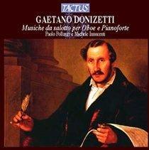 Various Artists - Gaetano Donizetti: Musiche Da Salotto Per Oboe E Pianoforte (CD): Gaetano Donizetti, Paolo Pollastri, Michele...