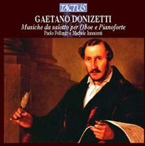 Various Artists - Gaetano Donizetti: Musiche Da Salotto Per Oboe E Pianoforte (CD): Gaetano Donizetti, Paolo Pollastri, Michele...