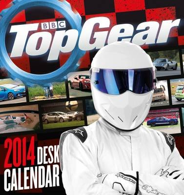 Official Top Gear Desk Easel 2014 Calendar (Calendar):