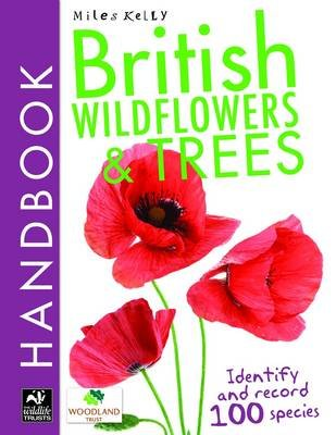 British Wildflowers and Trees Handbook (Paperback): Camilla De la B edoy ere