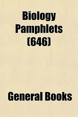 Biology Pamphlets (Volume 646) (Paperback): Books Group