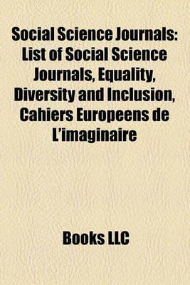 Social Science Journals - List of Social Science Journals