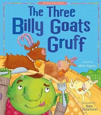 The Three Billy Goats Gruff (Paperback): Tiger Tales