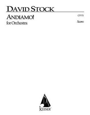 Andiamo for Orchestra - Full Score (Paperback):