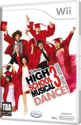 High School Musical 3 - Senior Year DANCE! (Nintendo Wii, Game):