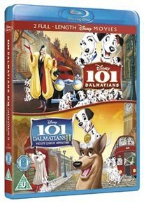 101 Dalmatians/101 Dalmatians 2 - Patch's London Adventure (English & Foreign language, Blu-ray disc): Rod Taylor, Cate...