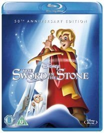 The Sword in the Stone (English, German, French, Blu-ray disc): Rickie Sorenson, Sebastian Cabot, Karl Swenson, Junius...