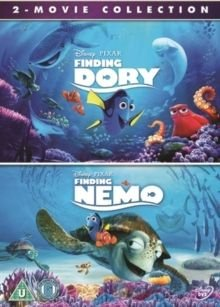 Finding Dory/Finding Nemo (English & Foreign language, DVD): Albert Brooks, Ellen DeGeneres, Alexander Gould, Willem Dafoe,...