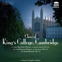 Various Artists - Choir of Kings College Cambridge (CD): Johann Sebastian Bach, George Frideric Handel, Emma Kirkby, Michael...