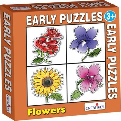 Creative's Early Puzzle - Flowers: