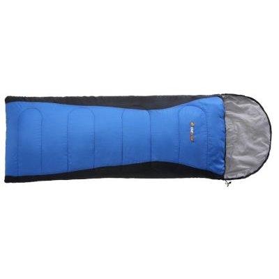 Oztrail Blaxland Jumbo Hooded Sleeping Bag (-5°C) (Supplied Colour May Vary):