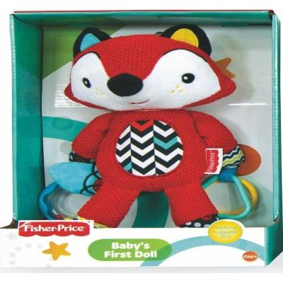 Fisher Price Baby Plush First Doll (Supplied doll may vary):