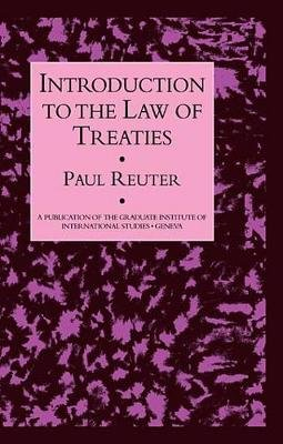 Introduction To The Law Of Treat (Electronic book text): Reuter