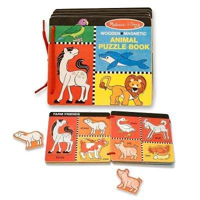 Animal Puzzle Book: Melissa & Doug