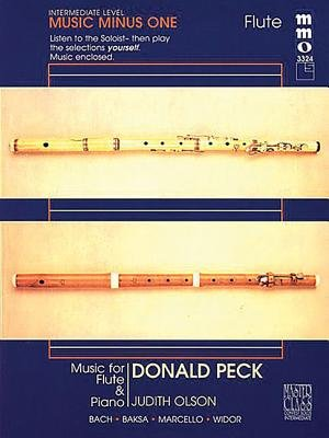 Donald Peck - Intermediate Flute Solos Volume 2 (Hardcover, annotated edition):
