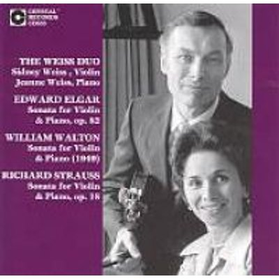 Elgar/Walton/Strauss - Weiss Duo: Elgar (CD): Various Artists