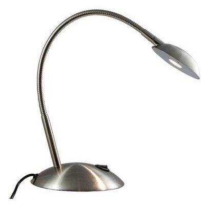 Lux Spotlight Led Task Light, Brushed Nickel:
