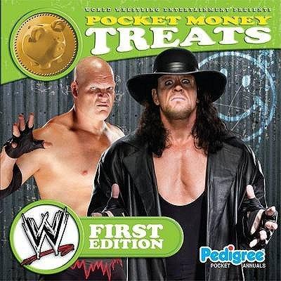 WWE Pocket Money Treats Series 1 2011 (Hardcover):