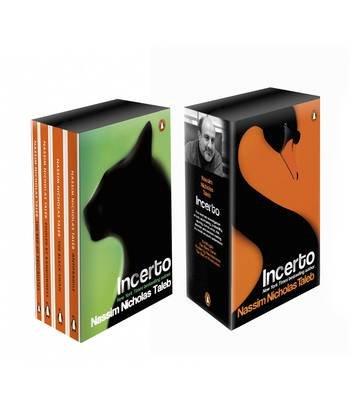 Incerto Box Set - Antifragile, The Black Swan, Fooled by Randomness, The Bed of Procrustes (Paperback): Nassim Nicholas Taleb