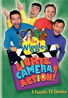 The Wiggles: Lights, Camera, Action (Region 1 Import DVD):
