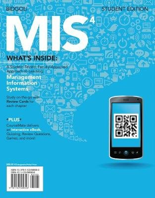 MIS4 (with CourseMate Printed Access Card) (Hardcover, 4th edition): Hossein Bidgoli