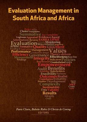 Evaluation management in South Africa and Africa (Paperback): Fanie Cloete, Babette Rabie, Christo De Coning