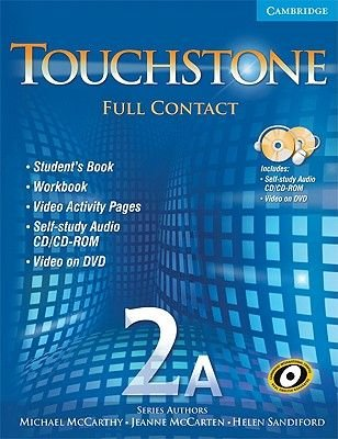 Touchstone 2A Full Contact (with NTSC DVD) (Paperback): Michael McCarthy, Jeanne McCarten, Helen Sandiford