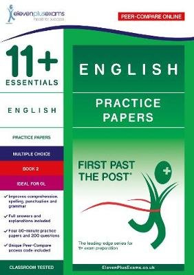 11+ Essentials English Practice Papers Book 2 (Paperback):