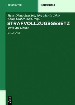 Strafvollzugsgesetz (English, German, Electronic book text, 6th): Hans-Dieter Schwind, J Jehle, Klaus Laubenthal