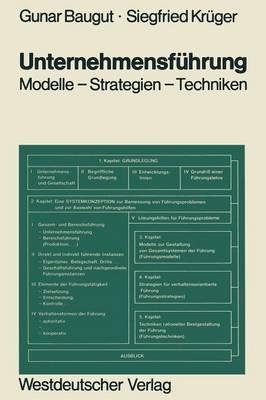 Unternehmensfuhrung (German, Paperback, Softcover Repri): Gunar Baugut, Siegfried Kruger
