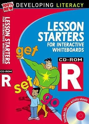 Lesson Starters for Interactive Whiteboards Year R - Developing Literacy Computer Disk and Booklet (Pamphlet): Christine...