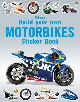 Build Your Own Motorbikes Sticker Book (Paperback): Simon Tudhope