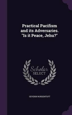 Practical Pacifism and Its Adversaries. Is It Peace, Jehu? (Hardcover): Severin Nordentoft