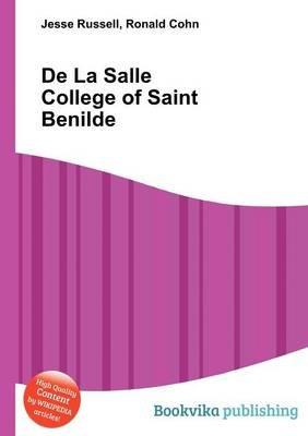de La Salle College of Saint Benilde (Paperback): Jesse Russell, Ronald Cohn