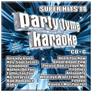 Party Tyme Karaoke - Super Hits 14 CD (2010) (CD): Party Tyme Karaoke
