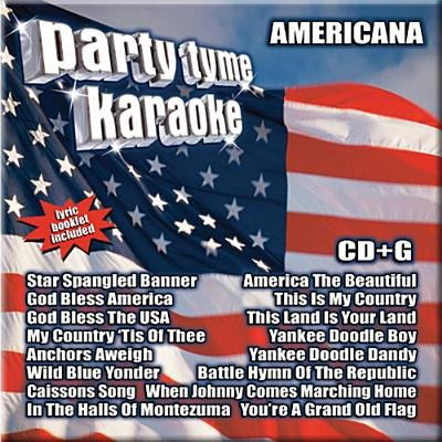 Party Tyme Karaoke-Americana (CD): Karaoke