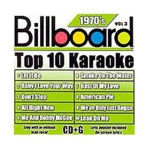 Billboard Top 10 Karaoke:70's Vol 3 CD (2007) (CD): Karaoke