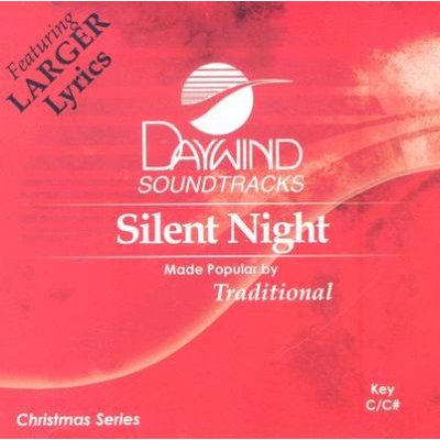 Daywind Trax - Silent Night (CD): Daywind Trax