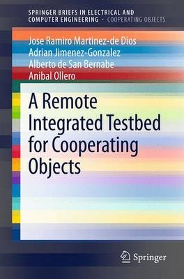 A Remote Integrated Testbed for Cooperating Objects (Paperback, 2014 ed.): Jose Ramiro Martinez de Dios, Adrian...