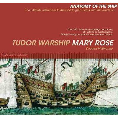 Tudor Warship Mary Rose (Hardcover): Douglas McElvogue