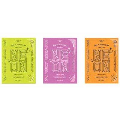 Palette, No. 4 - Neon - New Fluorescent Graphics (Paperback): Viction Workshop