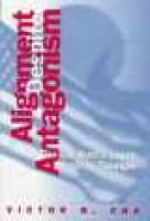 Alignment Despite Antagonism - United States-Korea-Japan Security Triangle (Hardcover): Victor D. Cha