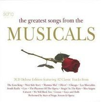 Greatest Songs from the Musicals, the [deluxe Edition] (CD): Various Artists