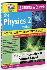 The Physics Tutor 2: Sound Intensity and Sound Level (Region 1 Import DVD): Jason Gibson