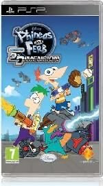 Phineas & Ferb  (PSP, UMD Video): PSP Game